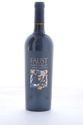 Just Released NEW Faust Cabernet Sauvignon Wine Napa Valley 1 Bottle Cab