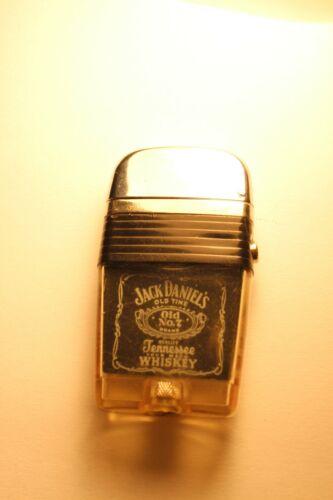 Vintage Scripto Vu Jack Daniels Advertising Cigarette Lighter Ex. ++ Condition