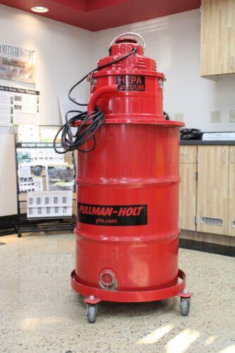 Used 102 HEPA Drum Vacuum -BIG RED HEPA DRUM