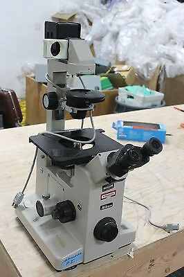 Nikon Diaphot Inverted Microscope Cfw10x Eye Pieces