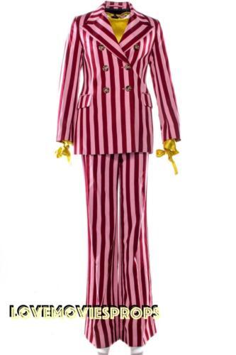 Anne Hathaway The Hustle Screen Worn Pink Suit Costume Movie Prop Joan Crawford