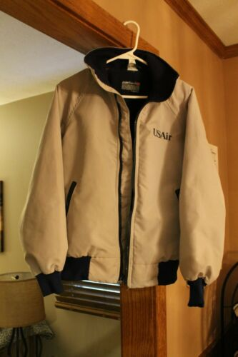 Vintage USAIR Logo Jacket Airlines Size Small