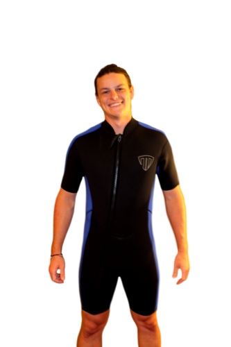 4X Shorty Wetsuit - Front Zip Off Style - Men's or Taller