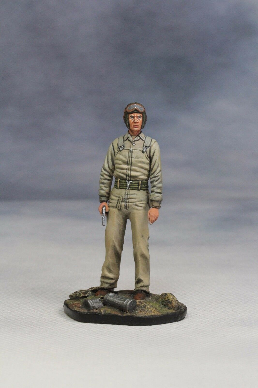 miniature toy soldier SS Amored Crew Metal Bust Figure SEIL model