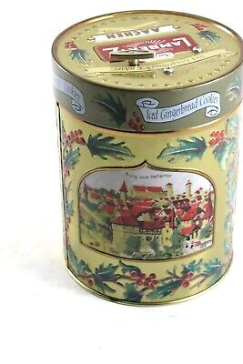 LAMBERTZ COOKIES TIN MUSICAL COOKIE TIN, PLAYS HAVE YOURSELF A MERRY CHRISTMAS ()