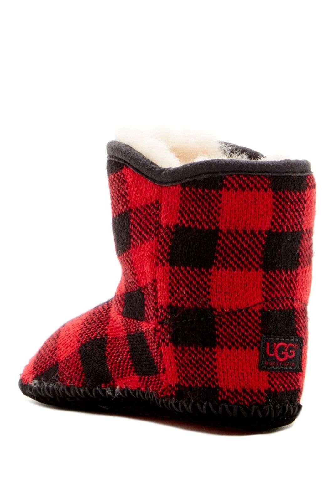 UGG Australia Red Purl Pine Button Boot for Infant Size 2-3 NIB $60 1