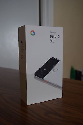 Google Pixel 2 XL - 128GB - Black & White  [FACTORY UNLOCKED BRAND NEW]