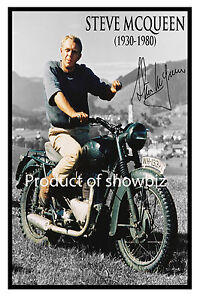 STEVE-McQUEEN-Large-signed-poster-of-late-hollywood-icon-Great-gift