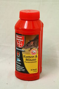 500 g bayer racumin ratten m use portionsk der. Black Bedroom Furniture Sets. Home Design Ideas