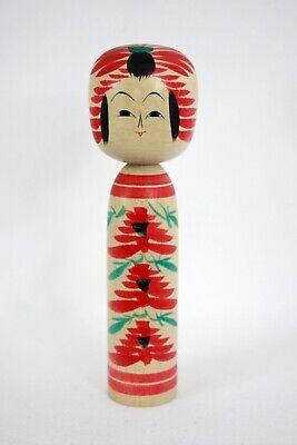 伝統小芥子 Dento Kokeshi Vintage Doll Japanese Tougatta - Made in Japan 042