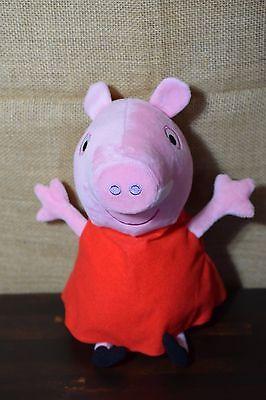12  Peppa Pig Hug N Oink Talking Plush Giggles 2003 Soft Stuffed Animal