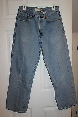 Men's Levi Strauss & Co.550  Measures 32x30  Relaxed Fit  Blue Jeans