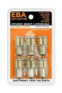 12V115613-1 LED Replacement Bulb 1141/1156 Base LED Natural White 90 lumens-1