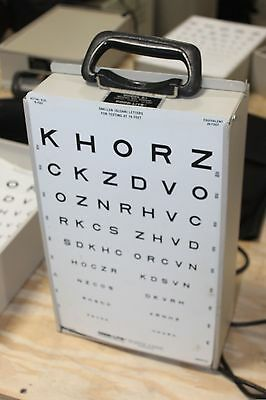 Good-lite Co. Visual Acuity Lighted E Chart Cabinet Model A 600600