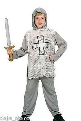 ★ Caballero Ritter Knight Mittelalter Kostüm Silber 110-146 Krausritter Kinder - Silber Ritter Kinder Kostüm