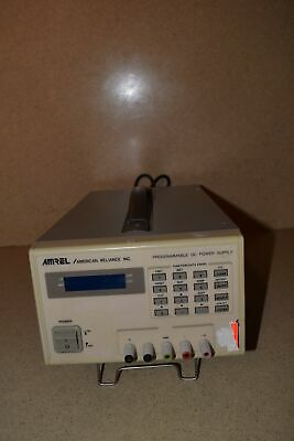 Amrel American Reliance Inc Programmable Dc Power Supply