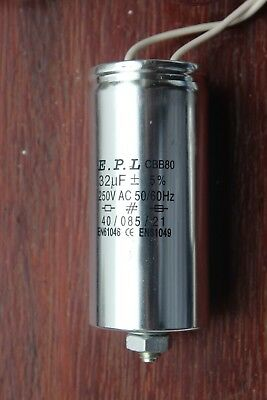 E.p.l Capacitor 32uf 240250v Ac For 250w Sodium Hps Metal Halide Hid Bulb
