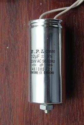 E.p.l Capacitor 32uf 240250v Ac For 250w Sodium Hps Metal Halide Hid Bulb