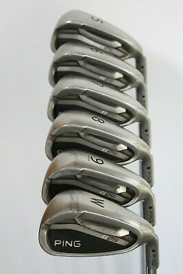 PING G25 IRONS 5-PW REGULAR FLEX STEEL SHAFTS