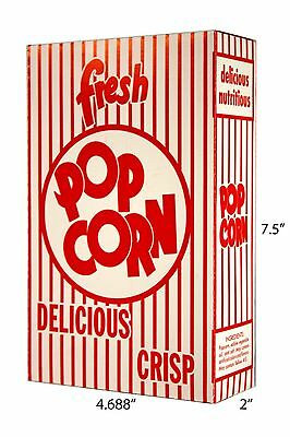 Paragon Part 1072 - Popcorn Boxes 1.25 Oz 100 Per Case