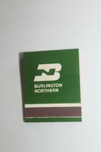 Vintage Burlington Northern Railway Box of 52 Match Books New