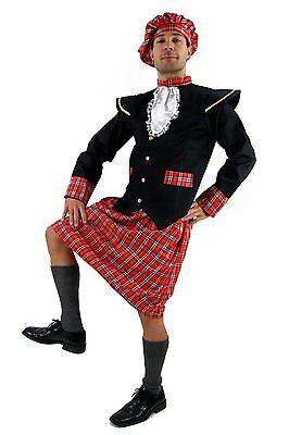 Scot Costume Kilt Braveheart Highlander Kilt Scots Rob Roy Plaid - Braveheart Costume
