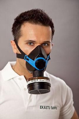 Atemschutz-Halbmaske mit Filter A2- P3 R D Gebrauchsfertig für Profis