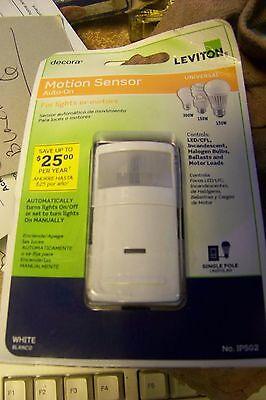 New Leviton Ips02 Motion Sensor Auto On Switch