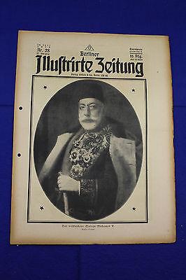 BERLINER ILLUSTRIRTE ZEITUNG (1918 Nr. 28) Merkwürdige Autos/1. Weltkrieg/WW 1