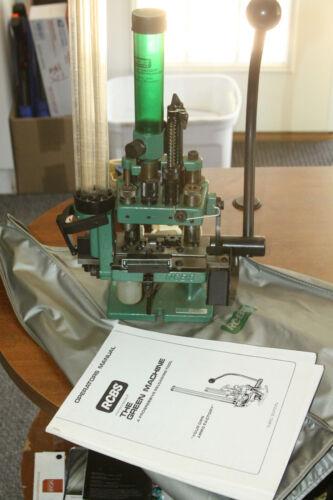 RCBS GREEN MACHINE BULLET Reloader Little Dandy 357 Mag Magnum .357 Reloading