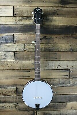 Recording King RKOH-05 Open-Back Banjo -  REPAIR PROJECT LUTHIER #R5491