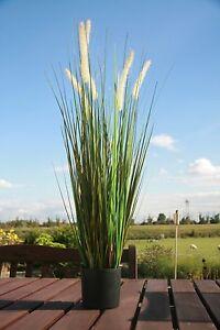 90 cm Dekogras,Deko Gras,Kunstgras,Ziergras,Schilfgras,Kunstpflanze,Zwiebelgras