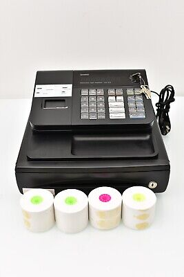 Casio Pcr-272 Electronic Cash Register With Manual Keys -used