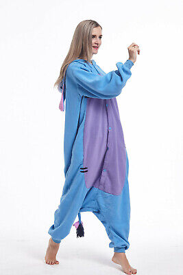 Eeyore Costumes For Adults (Donkey Animal Adult Onesie0 Eeyore Kigurumi Pajama Cosplay Costume for Women)
