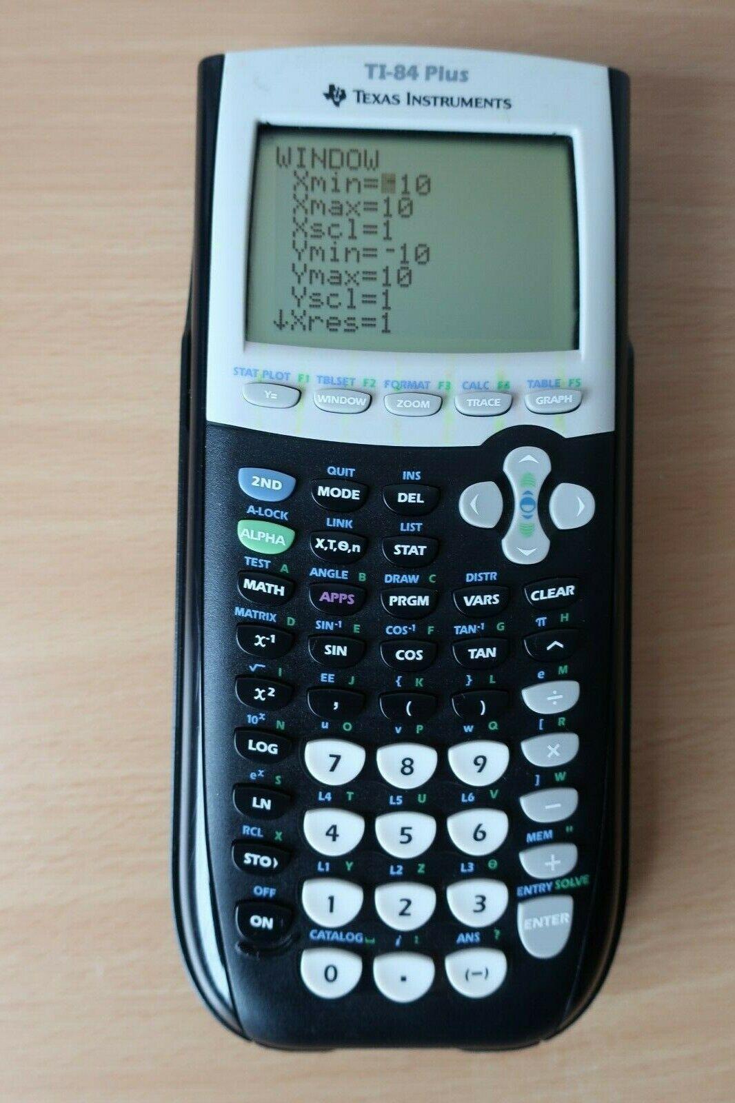 Texas Instruments TI-84 Plus Grafischer Taschenrechner