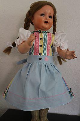 Dirndlkleid - bayerisch für 60-64 cm große Puppen