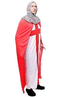 Kostüm Herrenkostüm Männer Ritter Kreuzritter Mittelalter Robe England L079 - Ritter Kreuzritter Kostüm