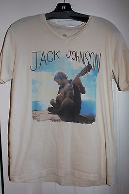 Jack Johnson From Here to Now to You concert tour tshirt small shirt RARE S