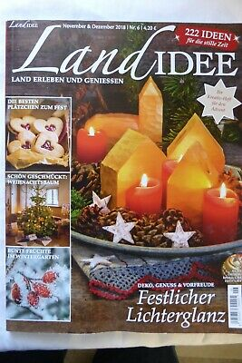Landidee November/Dezember 2018 Plätzchen, Weihnachtsbaumschmuck, Garten