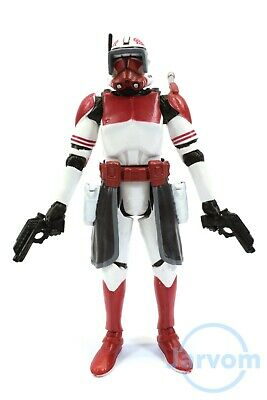 """Star Wars The Black Series 3.75"""" #15 Clone Commander Thorn Loose Complete"""