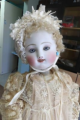 Early Antique French Bisque Pale Steiner Gigoteur Doll