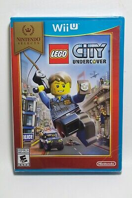 LEGO City: Undercover (Nintendo Wii U) **Brand New**