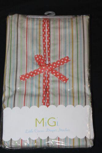 MiGi Little Circus Diaper Stacker nursery new in pkg