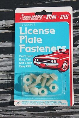 Vintage tag part nos auto accessory gm ford street hot rod