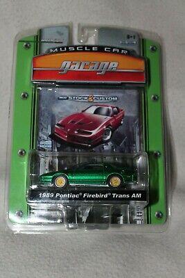 Greenlight Muscle Car Garage 1989 Pontiac Firebird trans AM (#100)