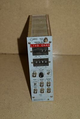 Bnc Berkeley Nucleonics Mod 7050 Digital Delay Generator Nim Bin Plug In Tp331