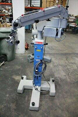 Carl Zeiss Opmi 1 Surgical Operating Microscope W S2 Base Super-lux 40