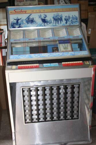 1960 Seeburg Q100 SR2 High Fidelity Jukebox