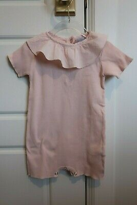 Violeta E Federico Pink ribbed one piece size 18 month