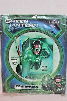 NEW IN PACKAGE THE GREEN LANTERN CENTERPIECE PARTY SUPPLIES ](Green Lantern Party Supplies)
